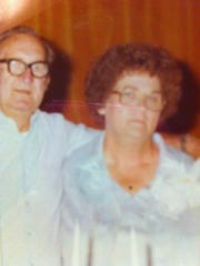 Carol's parents, in an undated photo.