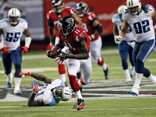 Falcons Julio Gears Up Football