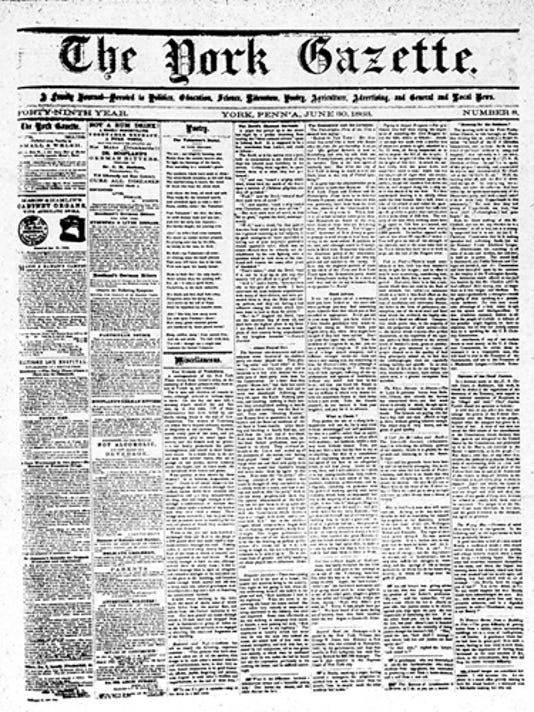 submittedThe York Gazette 1863for Jim's blogfor Jim's powerpoint