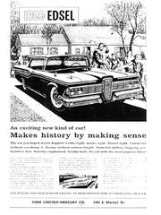 1959 Edsel Advertisement (Jim McClure's blog)submitted