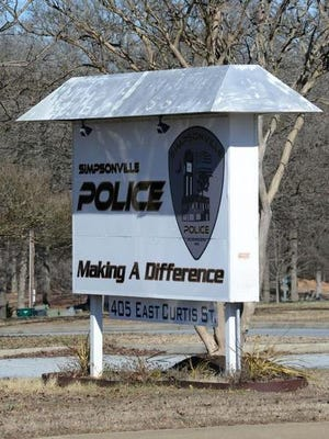 Simpsonville Police found an unresponsive missing female restrained in a room of the Simpsonville Motel 6 Tuesday morning.