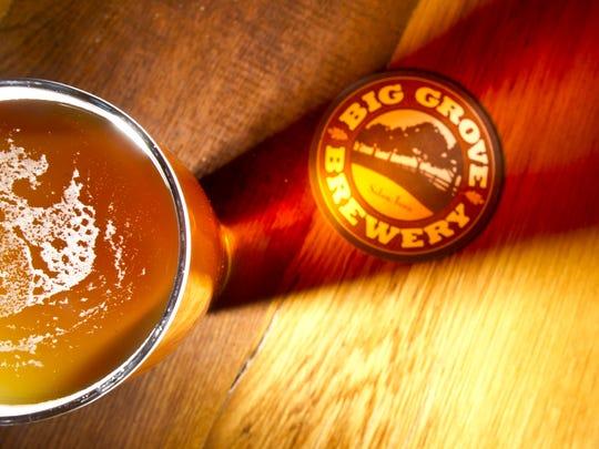 Big Grove Brewery's Arms Race IPA.