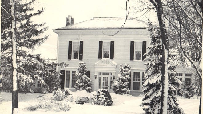 The Gregory mansion, 903 W. Grand River Avenue, Howell, was built in 1879 by Edward P. Gregory and his wife Elizabeth McPherson.