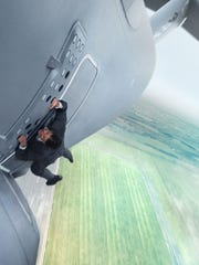Tom Cruise in 'Mission: Impossible - Rogue Nation.'