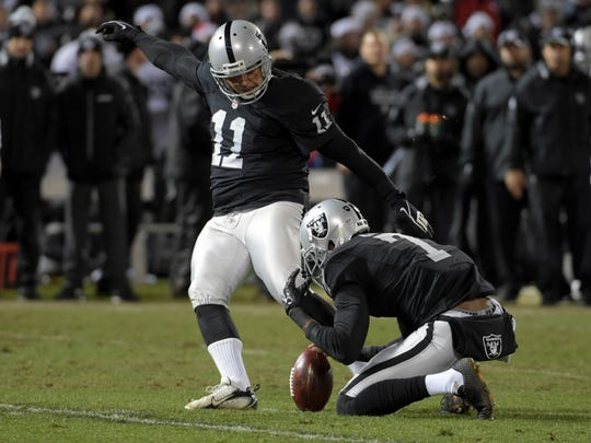 Former Florida State kicker Sebastian Janikowski has been one of best long-range specialist in league during his time with the Oakland Raiders.