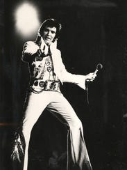 Elvis Presley performed five concerts in Cincinnati