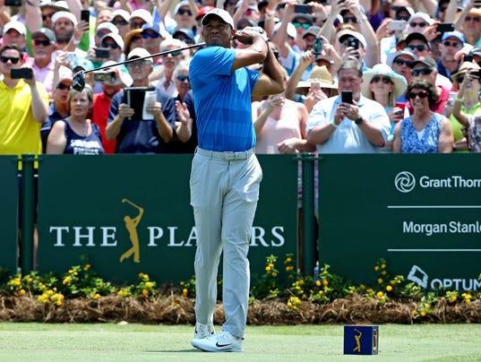 The Players Championship Sports: The Players Championship: Tiger Woods' Thursday Round