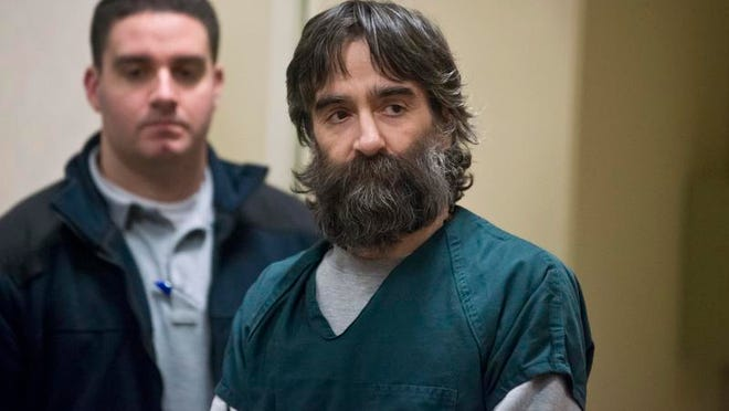 Jose Pazos appears at a competency hearing in Vermont Superior Court in Burlington on Dec. 6, 2013.