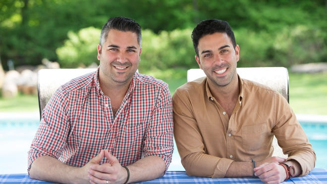 Hosts Adam and Andrew Erace as seen on Food Network's 'Great American Food Finds.