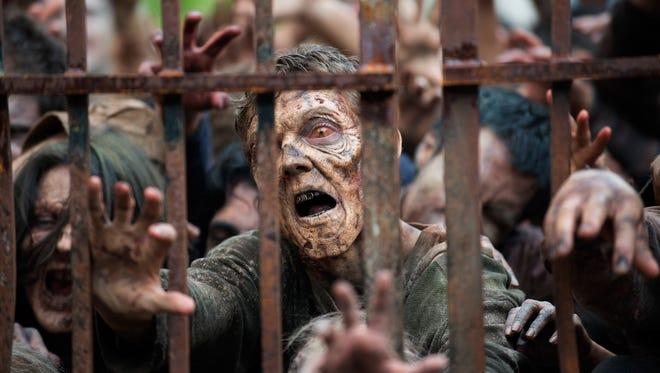 Zombie from 'The Walking Dead.'