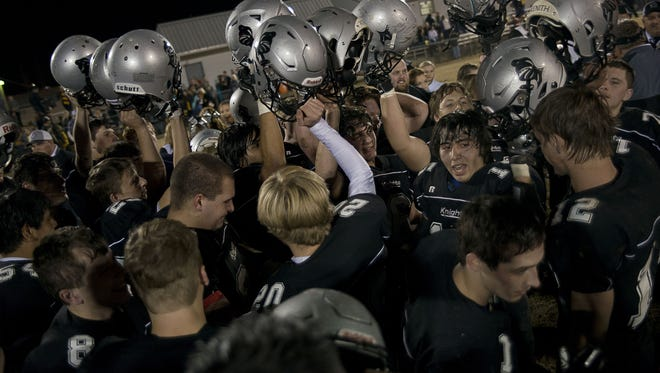 Robbinsville is the 1-A Western Regional football champion.