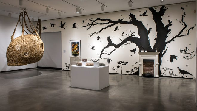 """""""The Nest, an exhibition of art in nature"""" at the Katonah Museum of Art"""