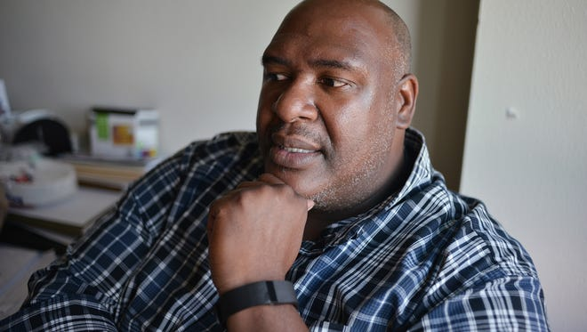 Eric Howard is the Veterans Treatment Court Coordinator for Buncombe County.