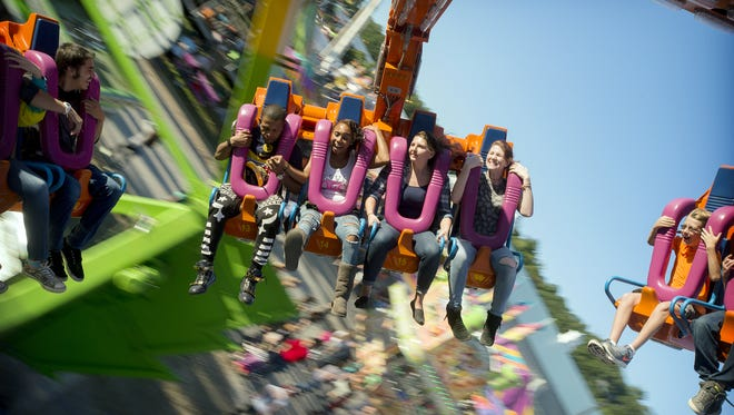 Ride the Cyclops at the North Carolina Mountain State Fair, which runs Sept. 9-18.