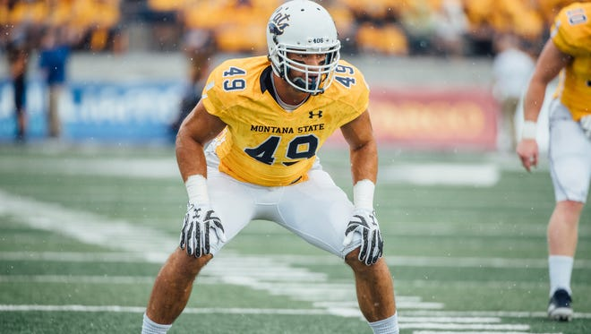 Mac Bignell of Drummond walked on at Montana State and became an all-Big Sky Conference linebacker. He recently signed a free-agent contract with the Philadelphia Eagles