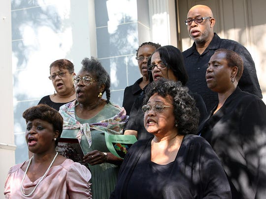 "The Legacy Concert Chorale performs at Tallahassee's 2012 city-wide Emancipation Week ""Festival of Freedom."""