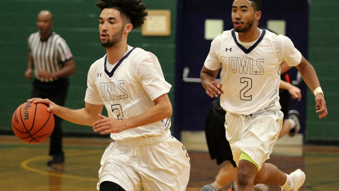 The Warren Wilson College men's basketball team defeated Milligan College 100-99 in the Owls' first home game of the season on Nov. 8.