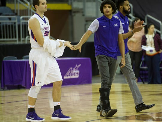 Evansville sophomore Dru Smith is expected to miss another game with a foot injury.