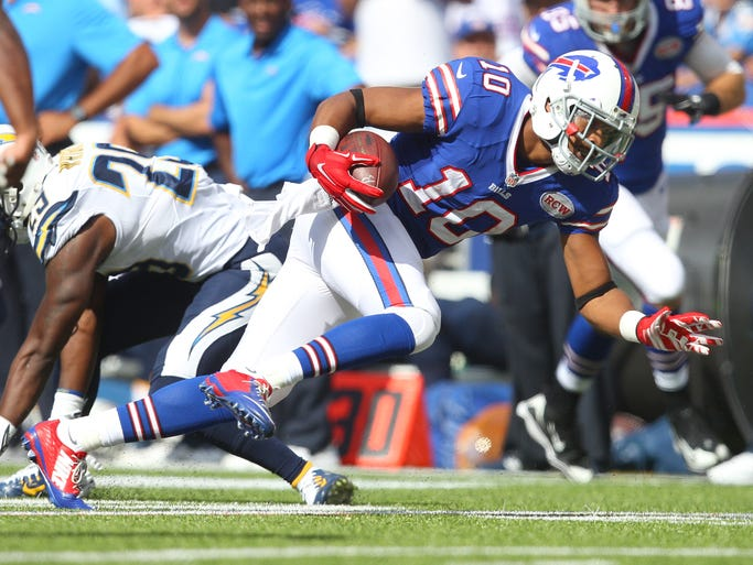San Diego Chargers 22 Buffalo Bills 10