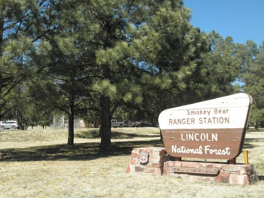Smokey Bear Ranger District office