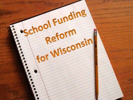 School Funding Reform Logo