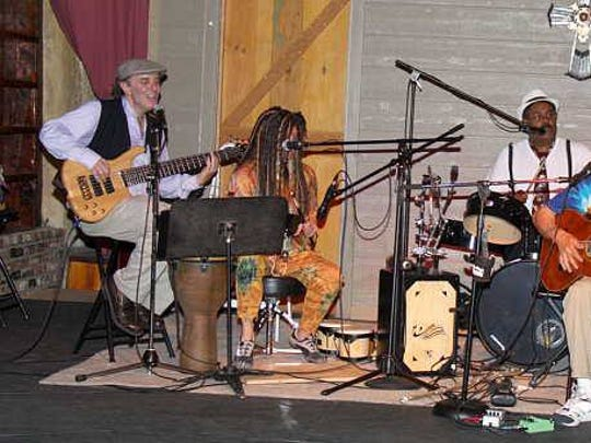 The Martin's history of performing at the Old Mill goes back years. Blake Martin is seen here playing with Pete Davis, Rich Chorne' and Tim Mccasland in 2013.