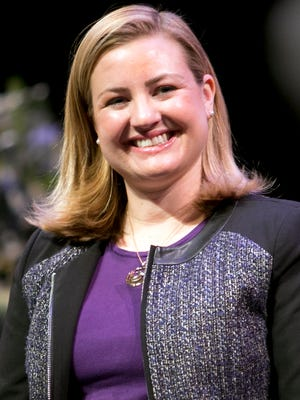 Phoenix City Councilwoman Kate Gallego (pictured) and a task force of experts on women's issues are suggesting changes to its non-discrimination ordinance and increasing education efforts to fight the compensation gap between men and women in Phoenix,