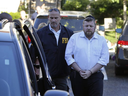 Shimi and Yocheved Nussbaum were arrested Monday in