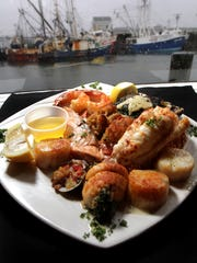 Can you get more seaside in your dining than the Shrimp Box in Point Pleasant Beach.