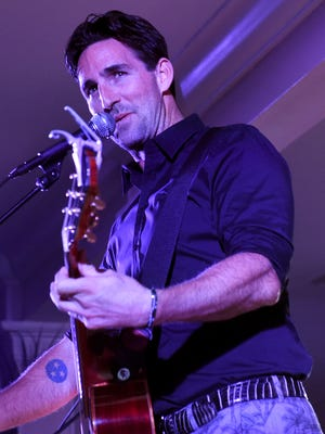 """Jake Owen performs during the """"An Evening with Jake"""" last year at the Vero Beach Country Club."""