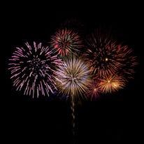 Brillant fireworks