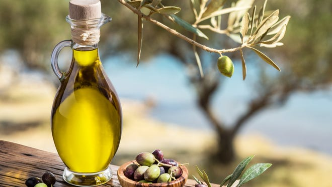Olive oil is one of the many cooking oils available at supermarkets.