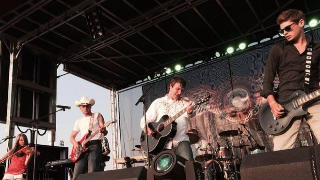 Members of the country rock band Forgotten Highway will perform at Graffiti's Sports Pub on Friday night.