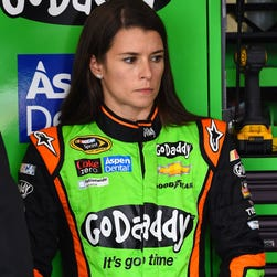 Danica Patrick finished seventh in the May race at Kansas Speedway.