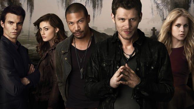 The cast of the CW show 'The Originals.'