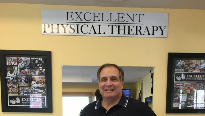 Lou DiGiovine, PT, founder of Excellent Physical Therapy in Bedminster, which is currently celebrating its 20th anniversary.