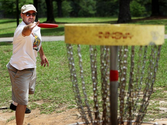 Tallahassee is hosting a disc golf tournament.