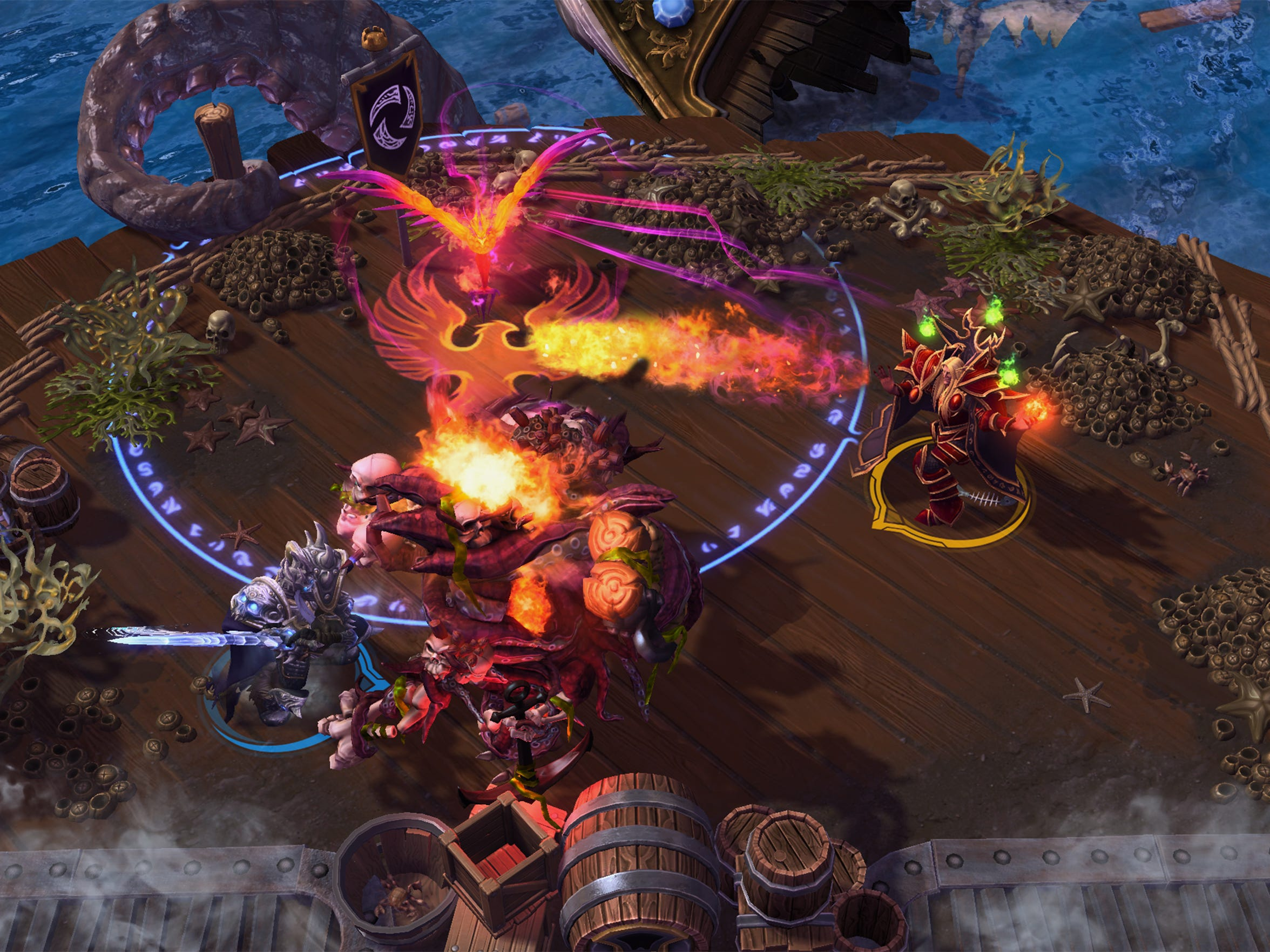 """""""Heroes of the Storm"""" serves up a streamlined MOBA experience that puts greater emphasis on team fights, map objectives and speedier play."""