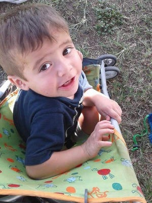 Logan Beltran, 2, was killed after he was struck by a vehicle in Banquete on Nov. 14, 2016.
