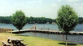 Broadway Lake is a 300-acre recreation spot east of downtown Anderson