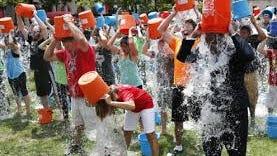 Ice Bucket Challenge (AP Photo)