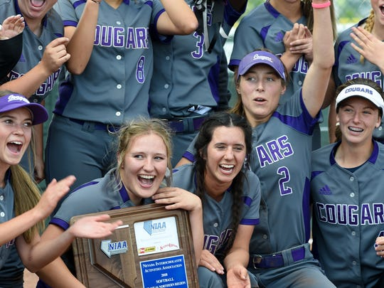 Spanish Springs won the 4A state softball title this year.