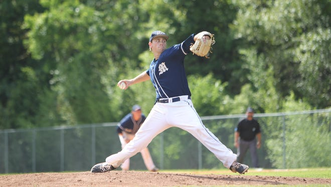 Maclay pitcher Max McKinley is 11-2 on the year with a 0.67 ERA. The Marauders are in the state tournament for the first time since 1993.