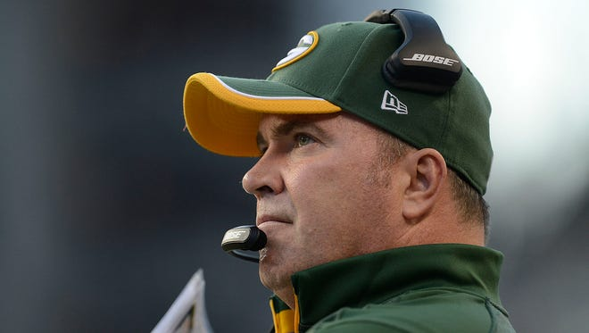 Green Bay Packers coach Mike McCarthy.