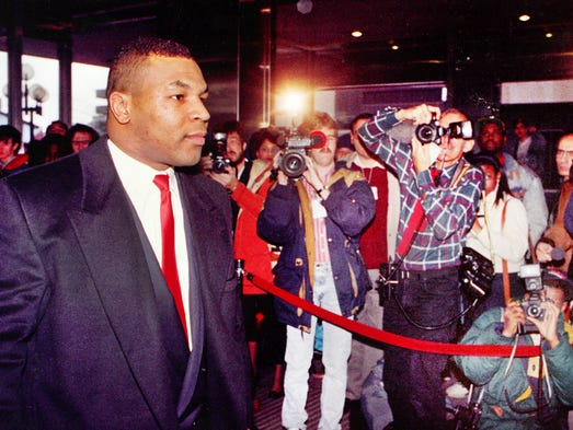Boxer Mike Tyson, accused of raping beauty pageant contestant Desiree Washington in the Canterbury Hotel on July 19 1991, attracted a media frenzy as he entered the City-County Building for his trial in January 1992. Tyson was convicted and served nearly three years of a six-year prison sentence in a Plainfield prison.