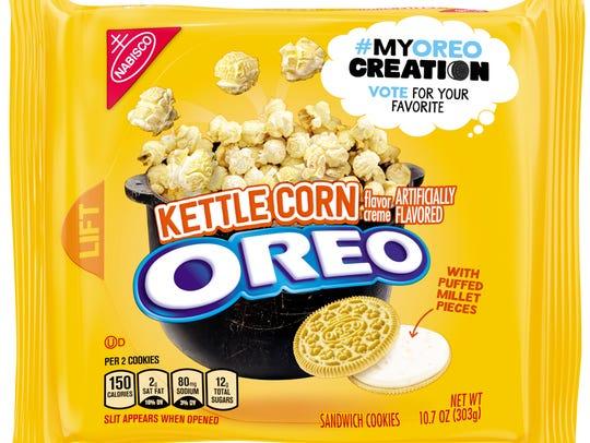 Kettle Corn Oreos.