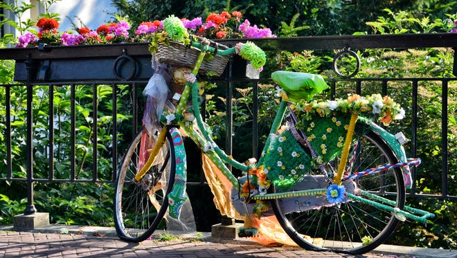 Kids can decorate their bikes for the third annual St. Cloud Kiwanis bike parade at Lake George.