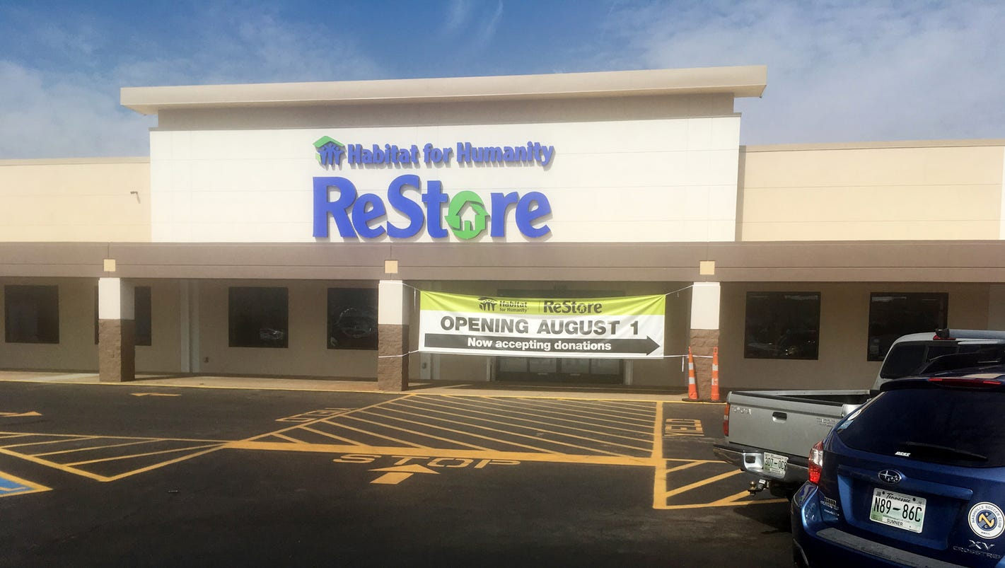 New nashville habitat restore is bigger and better for Habitat outlet