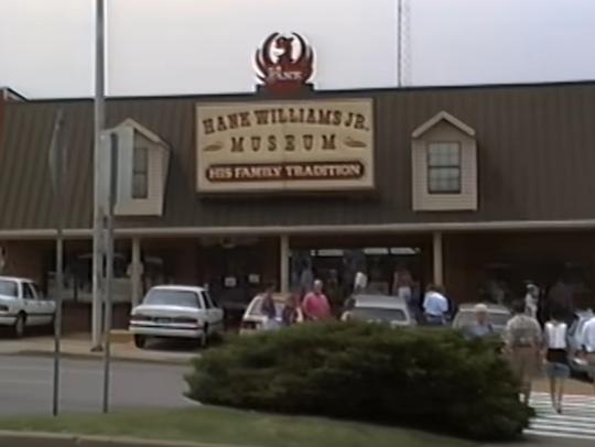 Nashville in 1994 - The Hank Williams Jr. museum on