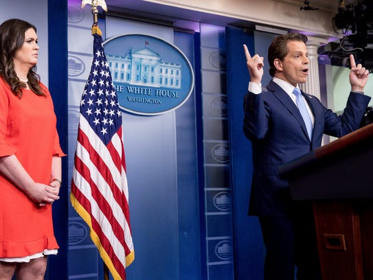 Anthony Scaramucci, incoming White House communications